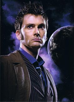 The Doctor. David Tennant.