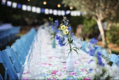Long tables seating arrangement in this special wedding. Long Tables, Wedding Decorations, Table Decorations, Table Seating, Wedding Seating, Home Decor, Decoration Home, Room Decor, Wedding Decor