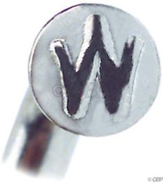WHEELSMITH 2.0 X 16MM SILVER ALLOY BICYCLE SPOKE NIPPLES--PACK OF 50