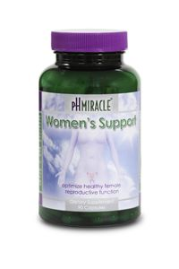 PH MIRACLE® WOMEN'S SUPPORT  **NEW** Women's Support promotes a more normal female reproductive system.