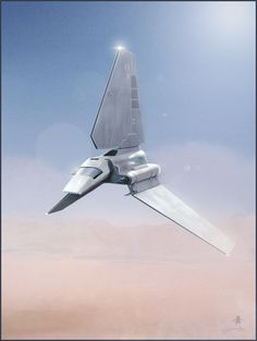 ♂ Futuristic Design - Imperial Shuttle Created by Andy Fairhurst.