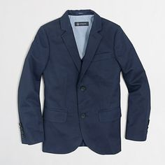 J.Crew Factory - Factory boys' Thompson suit jacket in chino