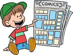 Blank Comic Strip Templates | Free Printable Comic Strip PDFs post image