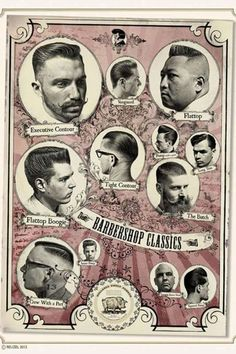 Rockabilly Haircuts for men by Schorem Haarsnijder En Barbier Hair And Beard Styles, Hair Styles, Victory Rolls, Rockabilly Hair, Retro Hairstyles, Greaser Hairstyles, Moustaches, Men's Grooming, Haircuts For Men