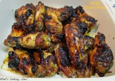 Sticky Chicken Wings - Whats Cooking Love?