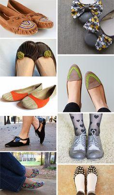 Ohoh Blog - diy and crafts: DIY Monday # Shoes