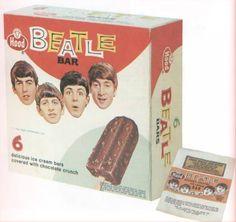 Beatle Bar - The Beatles - 1960s Advertising, Retro, Packaging