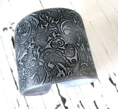 Huge SALE Silver Cuff Bracelet  Asian Style Ornate Design, Handmade Jewelry by theshagbag on Etsy