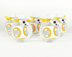 BB-8 - Água Personalizada - Star Wars - Lembrancinha - Festa
