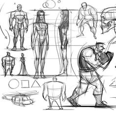 An older compilation page of out of my head doodles. #drawingexercise #conceptart #doodles #sketching #humananatomy #illustration #constructiondrawings #proportion #animation #anatomy #art #studies #boxer #girl #gesture #gesturedrawing #cariacture #cartoon #male #muscles