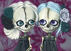 The Skulls of Briana Bainbridge - Obsessed With Skulls