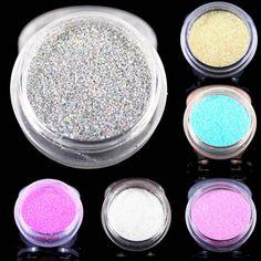 12 Colors Glitter Nail Art Dust Tool Kit Acrylic Gem Polish Nail Tools 3D Nail Art Decorations Nail Glitter Powder  Price: 0.27 USD