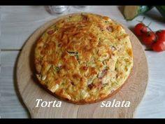 Torta salata 5 minuti gratinata farcita veloce - YouTube