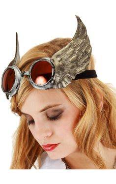Steampunk goggles with wings! - 15 Sets of Steampunk Wings