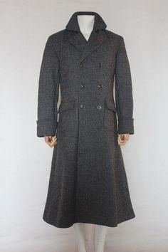 Sherlock Holmes Cape Coat Costume Cosplay Wool Custom Made
