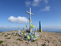 Podkarpatská Rus, Solotvinská jezera a Hoverla Wind Turbine, Ukraine