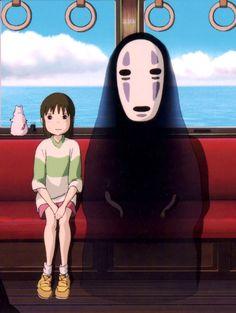 Spirited Away - Hayao Miyazaki (one of my favourite movies of all time)
