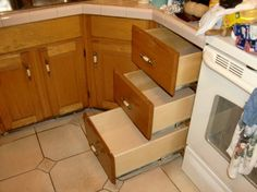 Kitchen Cabinet Drawer Replacement Boxes