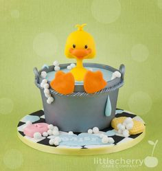 A ducky Shower