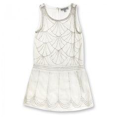 """Vestido """"Charleston"""" con perlas diseñada por Sieglinde de Plas/Paris"""