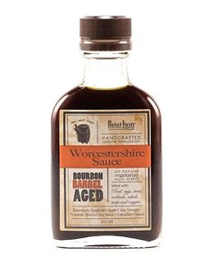 Bourbon Barrel Aged Worcesterchire Sauce