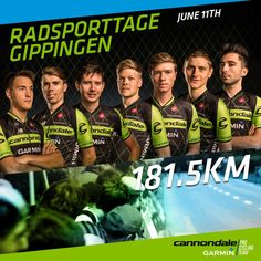 Double race program tomorrow! This seven-rider squad is ready for the Swiss circuit race. #Gippengen: