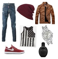 """""""Crush #1"""" by schlabach-shelly ❤ liked on Polyvore featuring Blue Crown, NIKE, Calvin Klein, Rolex, men's fashion and menswear"""