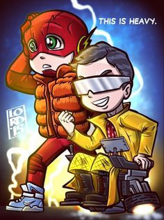 Barry Allen (The Flash) & Harrison Wells