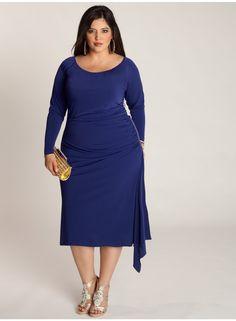 Milan Dress in Royal. IGIGI by Yuliya Raquel. www.igigi.com