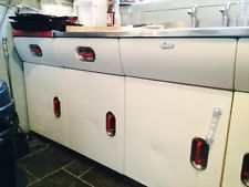 Vintage Retro 50s Kitchen complete With AGA Made Of Steel  Mid Century