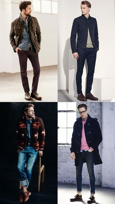 Casual Brogue Lookbook