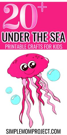 Here's a fun ocean animal printable activity for kids to enjoy - there's over 20 different under the sea crafts for your little ones to cut & paste. From cute paper dolphins to octopus and even turtles - there's a whole set of sea animal printable templates for your preschoolers to craft right here. So if you want an easy diy activity for your kids on a rainy day, then grab these awesome ocean animal printable templates today! Sea Animal Crafts, Animal Crafts For Kids, Crafts For Kids To Make, Printable Templates, Printable Crafts, Toddler Preschool, Toddler Crafts, Under The Sea Crafts, Printable Activities For Kids