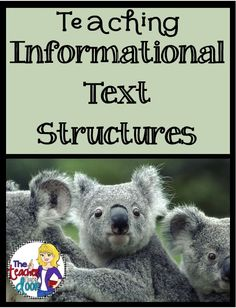 Lots of easy to implement ideas to help you teach informational text structures.