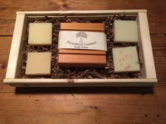 Natural Soap Gift Set, Bath Soap Set with Soap Saver Great Mother's Day or Father's Day  Or Teacher's Gift