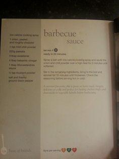 Slimming World BBQ Sauce Recipe