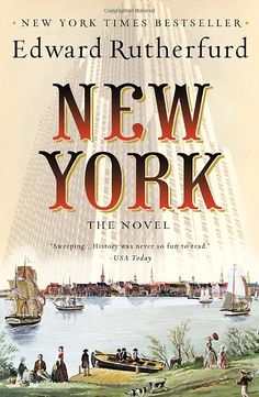 Loved this books but really all his books I highly recommend - New York by Edward Rutherford