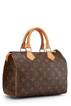 Louis Vuitton Monogram Canvas Speedy 25 - What Goes Around Comes Around Speedy 30, Classic Handbags, New Bag, Monogram Canvas, Birkin, Louis Vuitton Speedy Bag, Karl Lagerfeld, Louis Vuitton Monogram, Leather