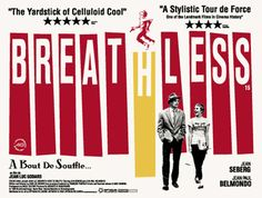 10 Film Posters from French New Wave Cinema