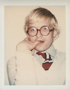 Andy Warhol portrait of David Hockney. Courtesy of the Andy Warhol Foundation for the Visual Arts, Inc. David Hockney Tate, Andy Warhol Portraits, Andy Warhol Flowers, Famous Artists, Graffiti Art, Artist Art, American Artists, Comic Art, Pop Art