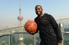 #CP3 in China for #NBAGlobalGames