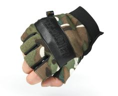 Military enthusiasts tactical gloves Outdoor research half finger gloves Cycling gloves