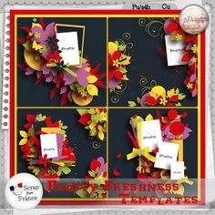 Fruity freshness (Templates) by S.Designs
