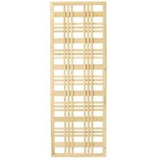 1.5 in. x 24 in. x 6 ft. Framed Catalina Wood Lattice Screen 228225 at The Home Depot - Mobile