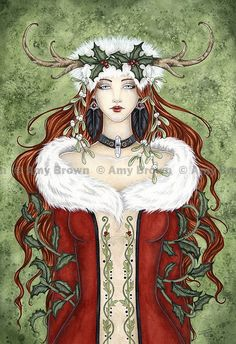 Winter Solstice by Amy Brown
