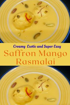 Soft spongy and deliciously creamy mango rasmalai is guaranteed to please mango lovers. This super easy Indian dessert recipe is made with just 5 ingredients and needs minimum effort. #indianmangodessert #easyindiandessert #mangorasmalai