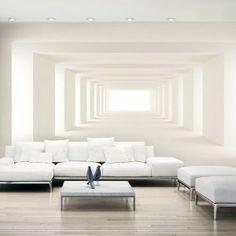 Papier Peint Xxl Into The Light Ii - Taille : cm 3d Wall Art, Wall Art Decor, Photo Wall Art, Kids Room Furniture, Furniture Design, Living Room Under Stairs, Living Room Designs, Living Room Decor, Decoration Photo