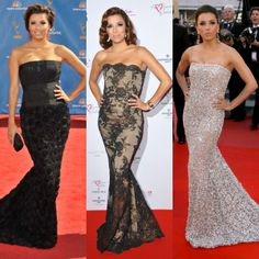Eva Longoria Mermaid Dresses