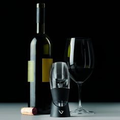 wine aerator - Our favourite new toy!  Huge difference without the wait.