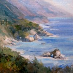 Big Sur Beauty - California Central Coast Seascape Oil Painting by ...
