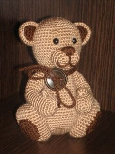 Watch This Video Incredible Crochet a Bear Ideas. Cutest Crochet a Bear Ideas. Crochet Bear, Crochet Books, Cute Crochet, Crochet Toys Patterns, Amigurumi Patterns, Bear Toy, Teddy Bear, Easy Crochet Projects, Knitted Animals
